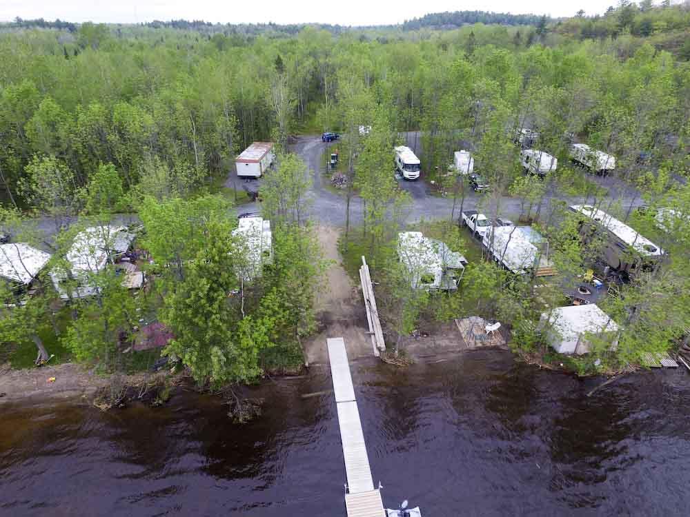 Aerial Photos Brennan Harbour Discoveron