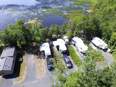 Rv park campground near spanish ontario