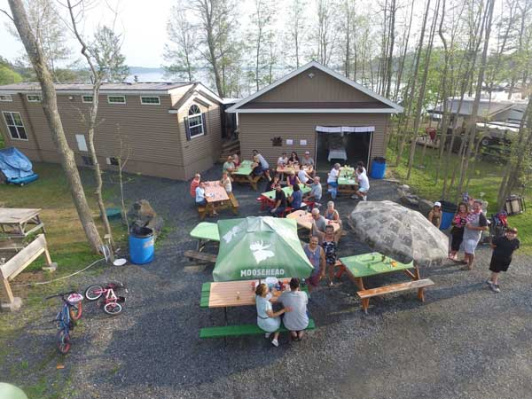 Brennan harbour rv park camper appreciation 2018 001
