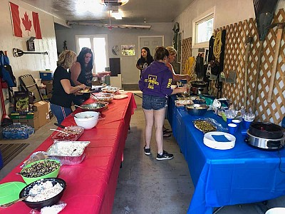 Brennan harbour rv park camper appreciation 2019 02